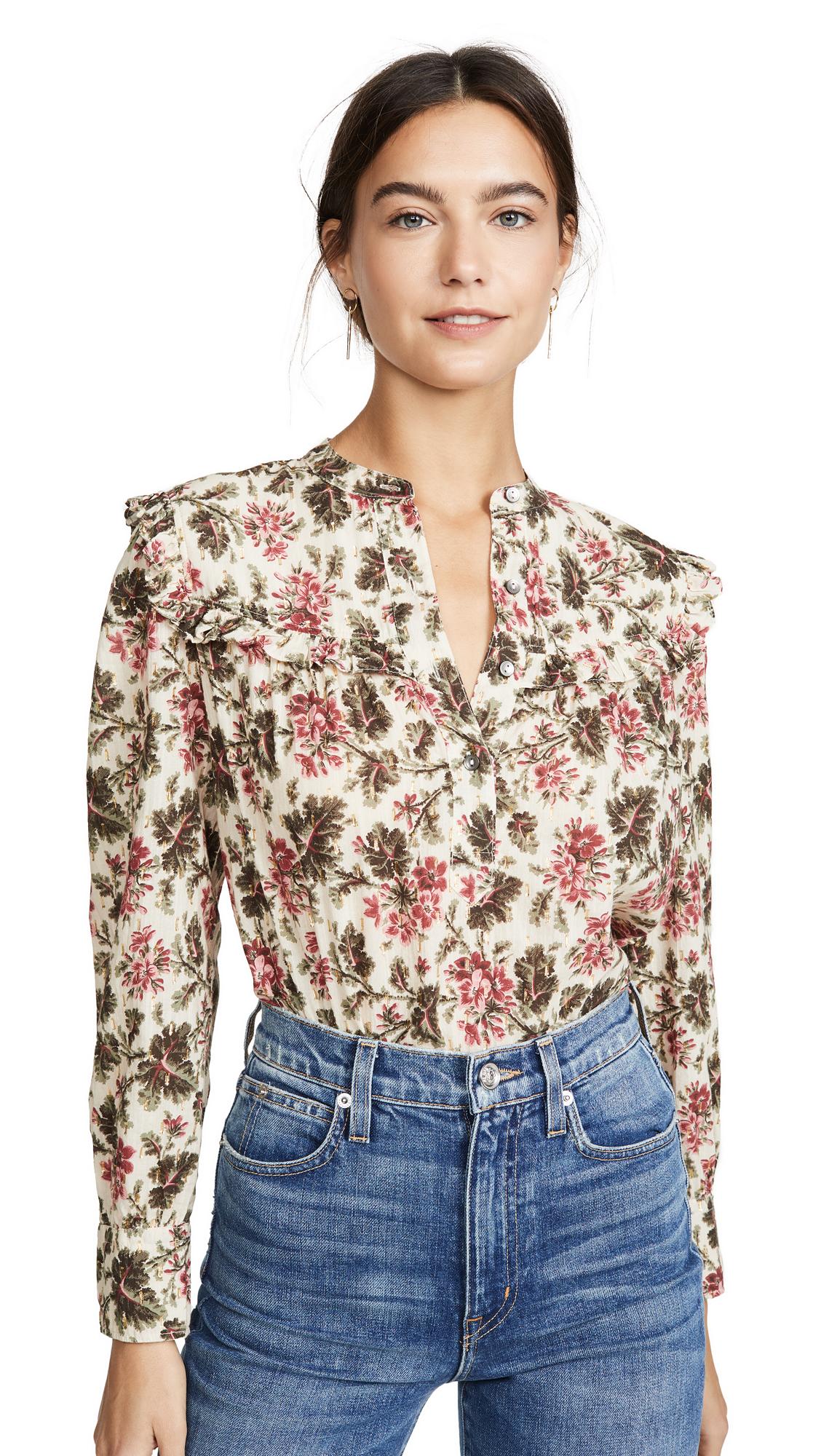 Buy La Vie Rebecca Taylor online - photo of La Vie Rebecca Taylor Long Sleeve Chouette Top