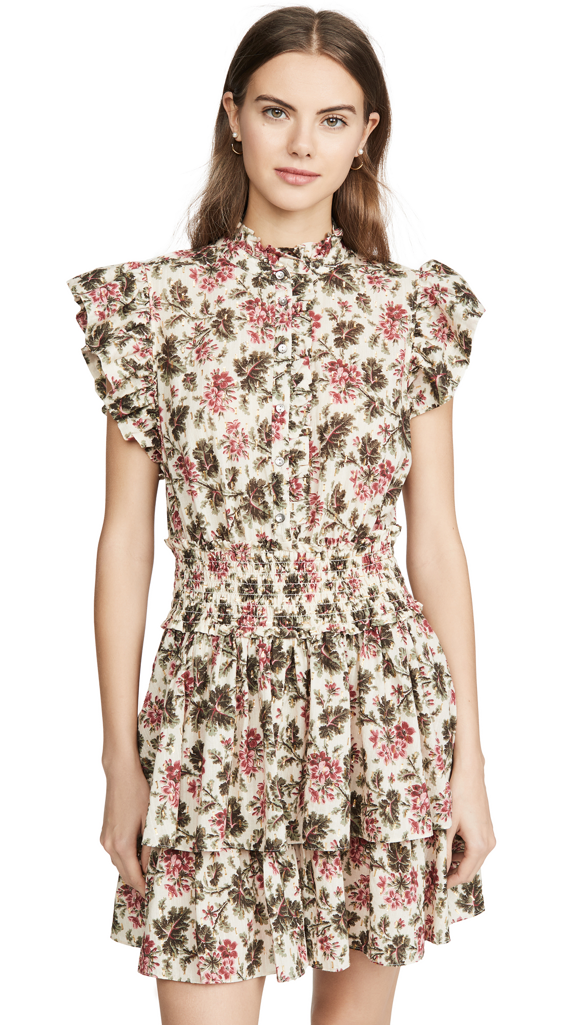 Buy La Vie Rebecca Taylor online - photo of La Vie Rebecca Taylor Sleeveless Chouette Dress