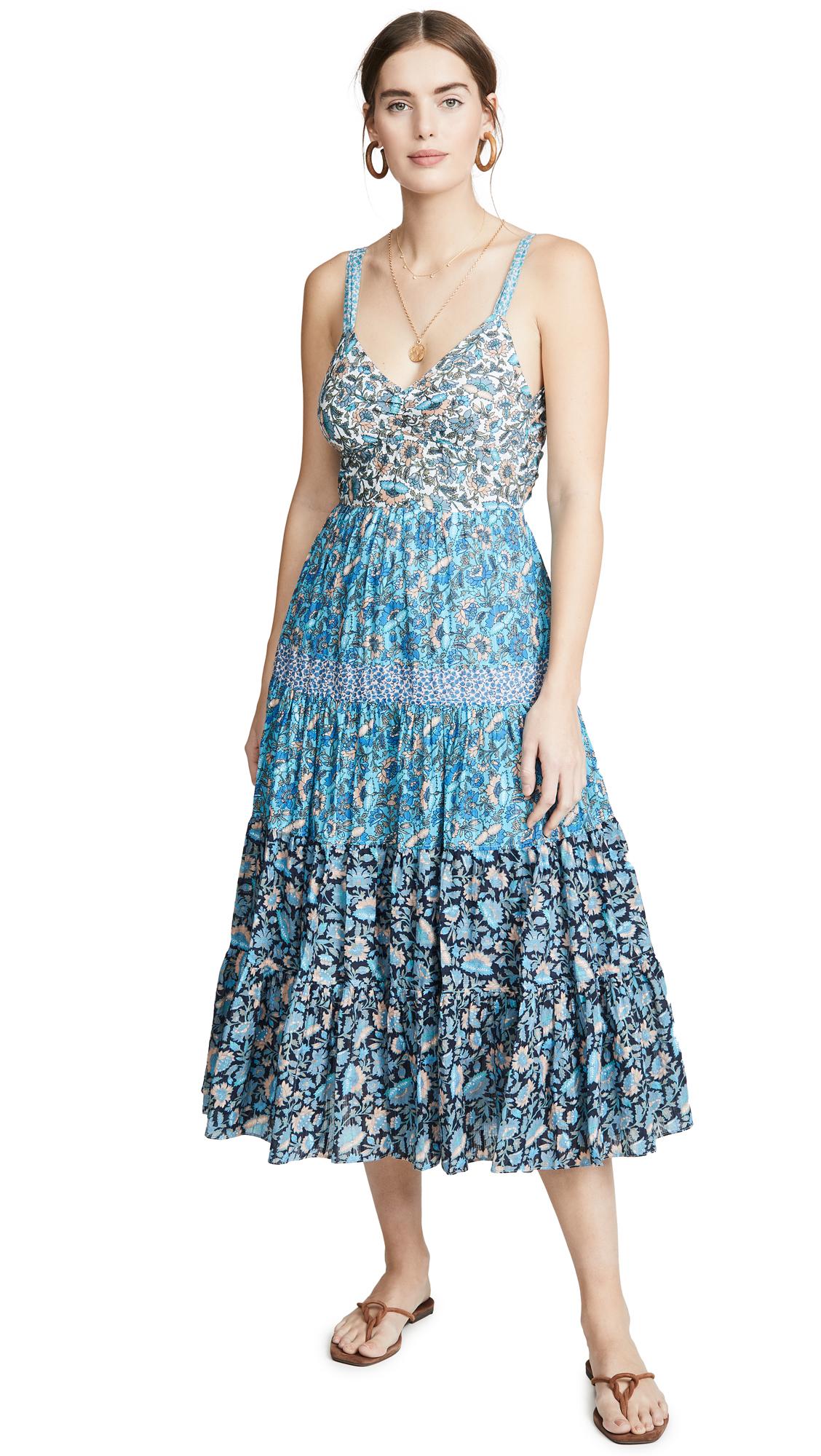 Buy La Vie Rebecca Taylor Sleeveless Print Mix Dress online beautiful La Vie Rebecca Taylor Clothing, Dresses