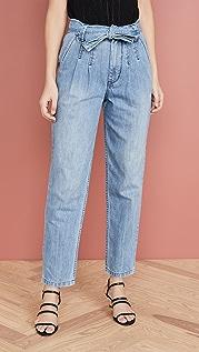 La Vie Rebecca Taylor Tie Waist Jeans