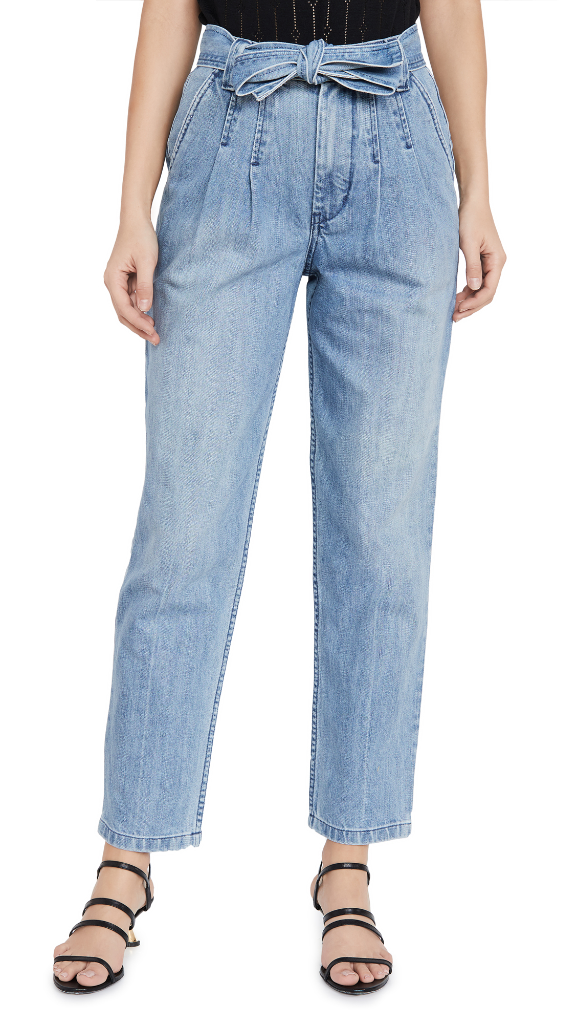Buy La Vie Rebecca Taylor online - photo of La Vie Rebecca Taylor Tie Waist Jeans