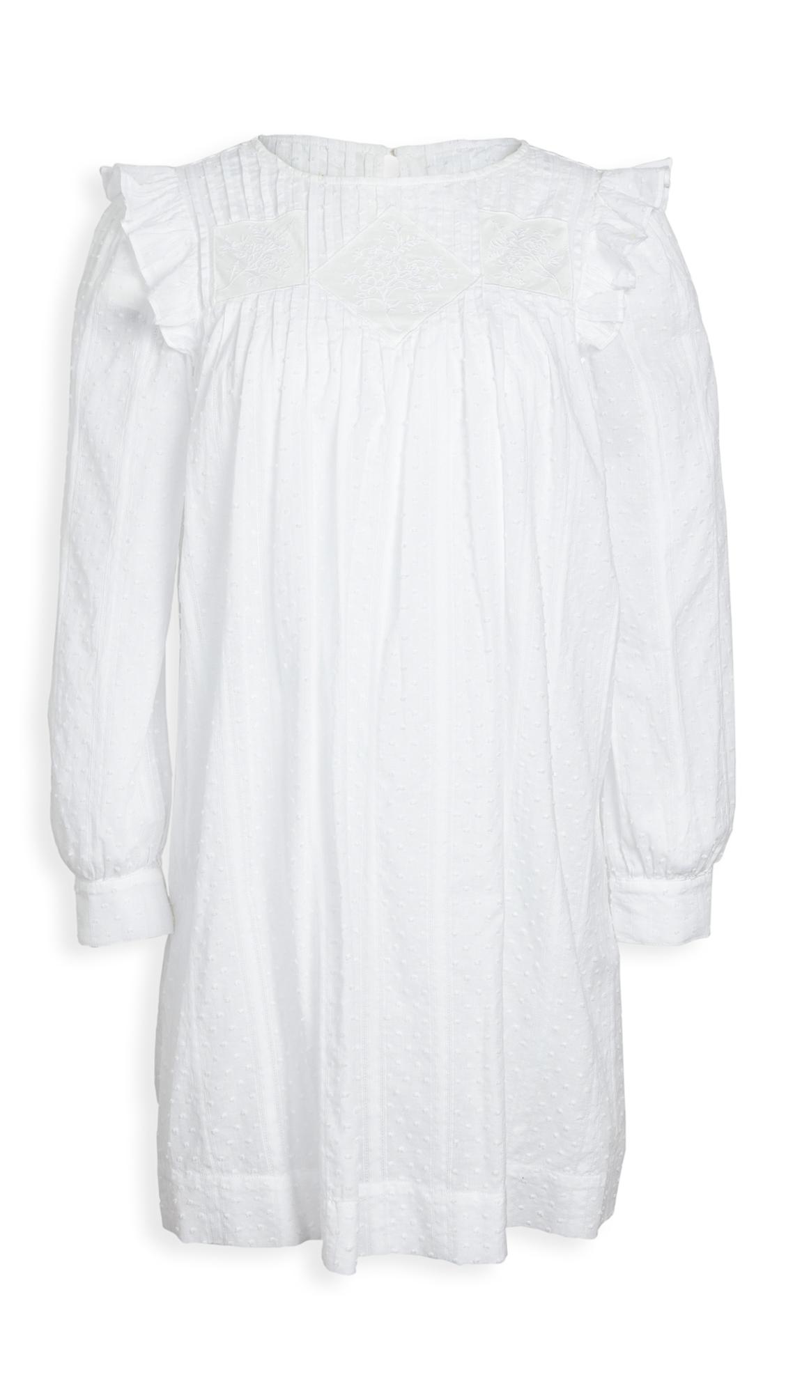 La Vie Rebecca Taylor Long Sleeve Kelsey Clip Dress - 40% Off Sale