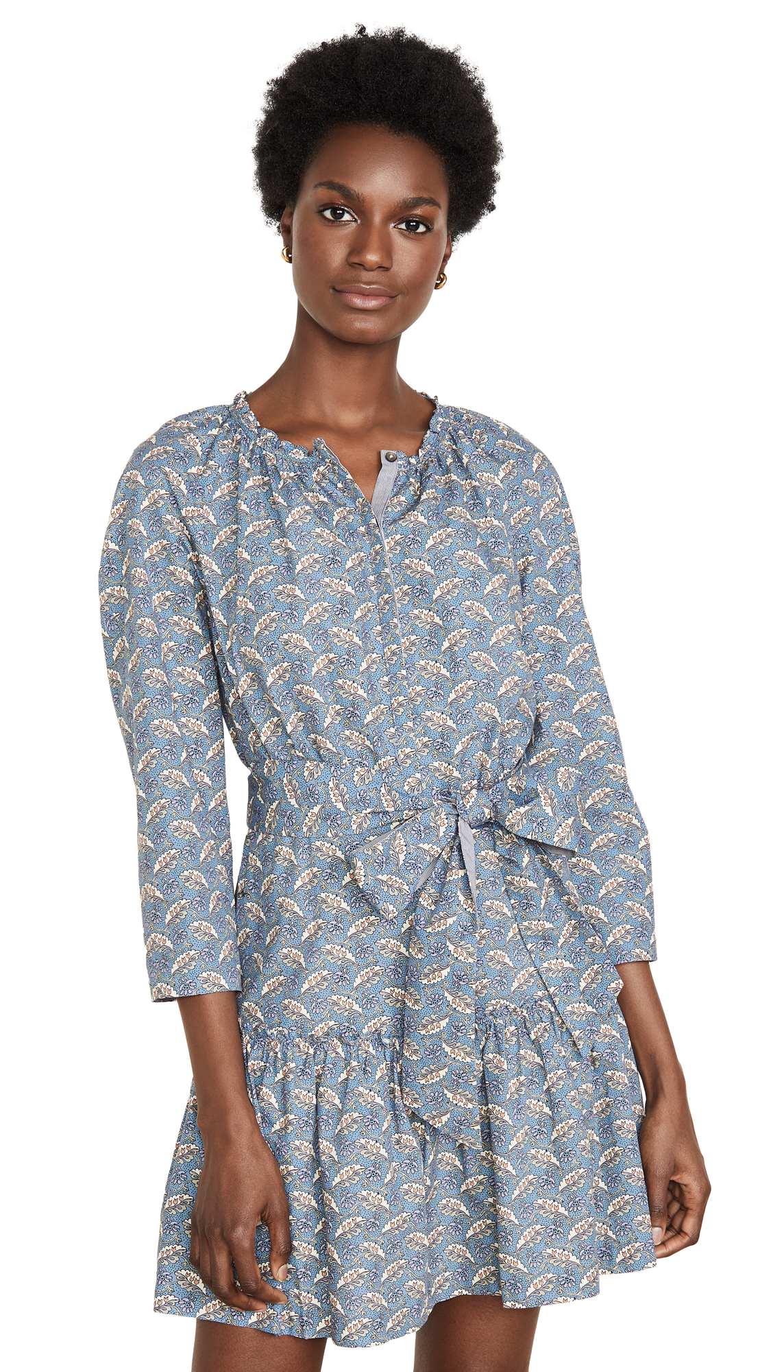 Buy La Vie Rebecca Taylor online - photo of La Vie Rebecca Taylor Long Sleeve Woodblock Dress