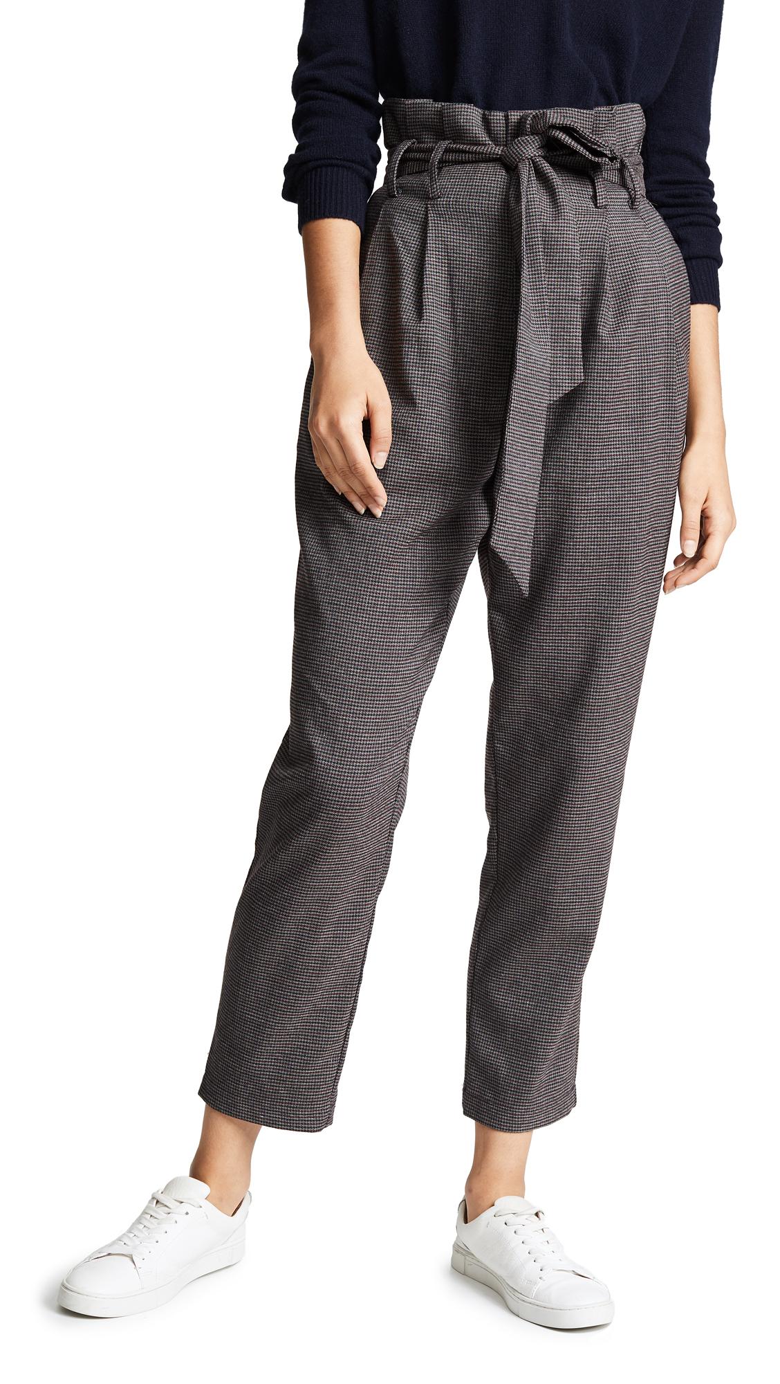LOST + WANDER Lone Star Tie Pants in Grey Multi