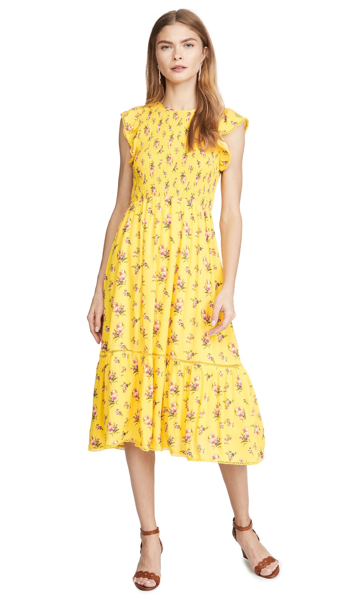 Buy Lost + Wander online - photo of Lost + Wander Mango Tango Midi Dress