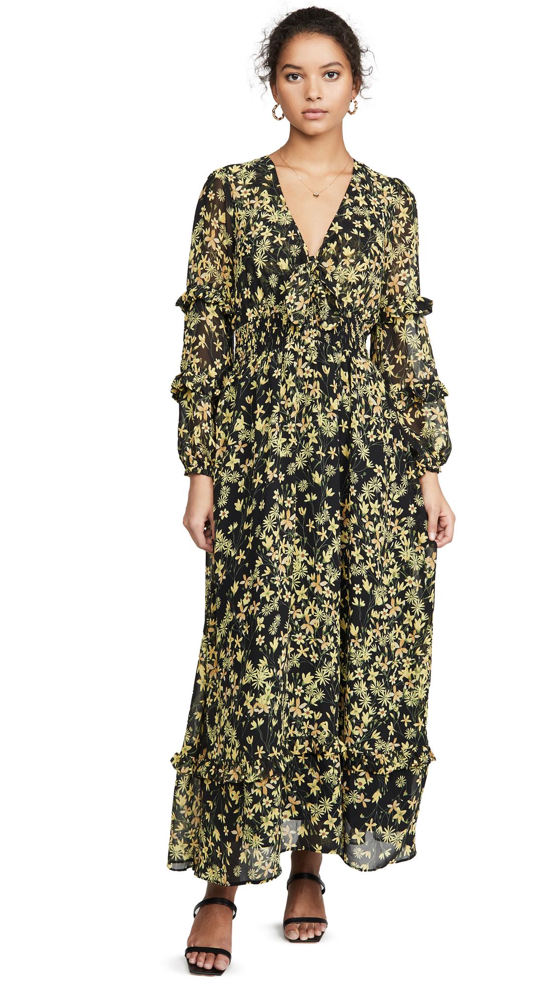 Buy Lost + Wander online - photo of Lost + Wander Marianna Maxi Dress