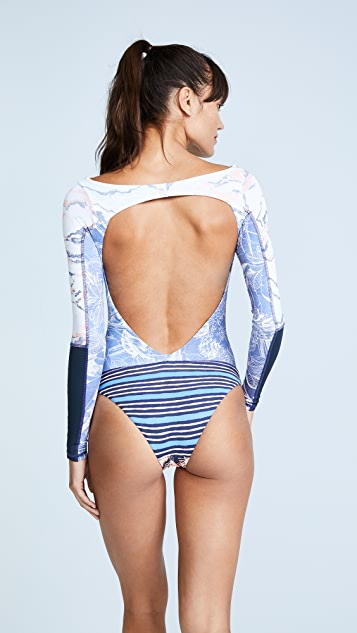 Maaji Reversible Solano Bay Rash Guard
