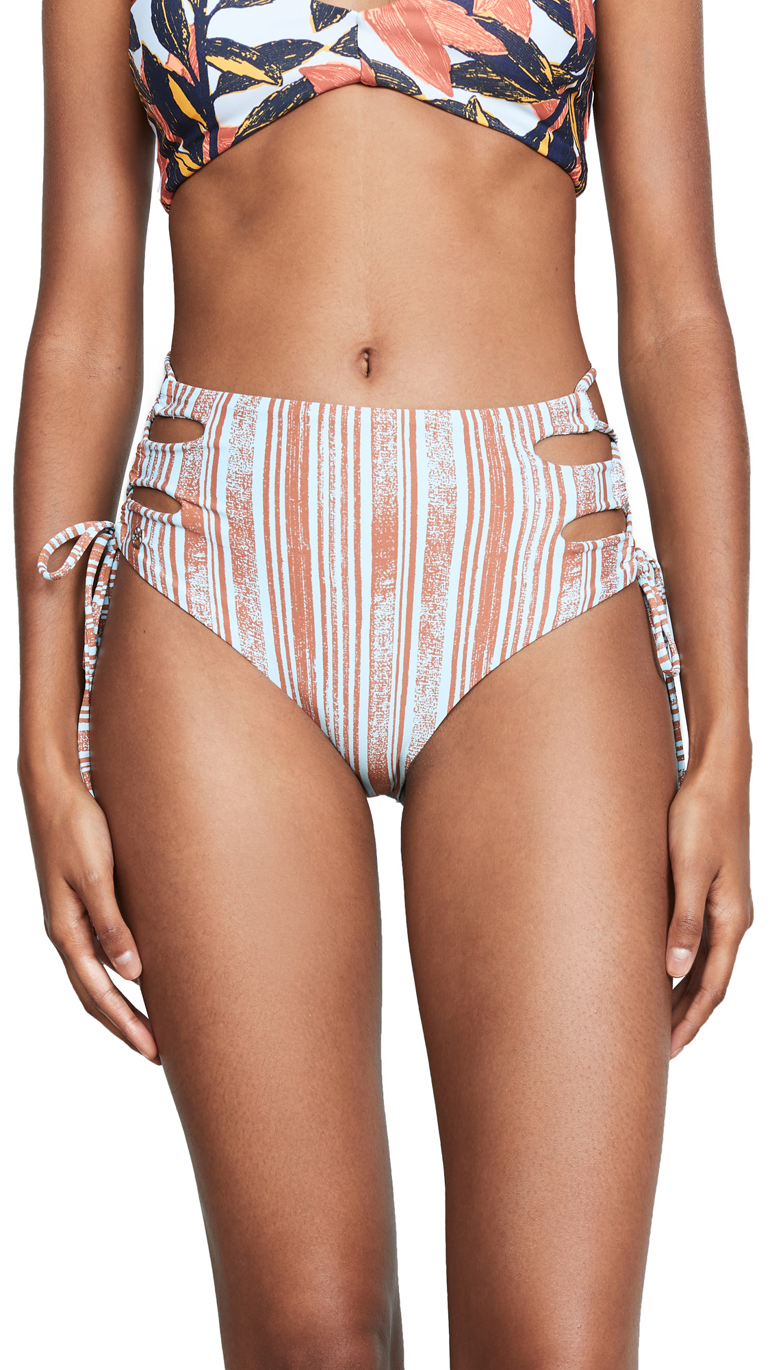 MAAJI BREAKFAST CLUB REVERSIBLE BIKINI BOTTOMS