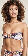 Maaji Loops and Hoops Bandeau Bikini Top