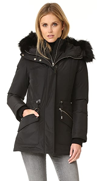 Mackage Katryn Coat In Black