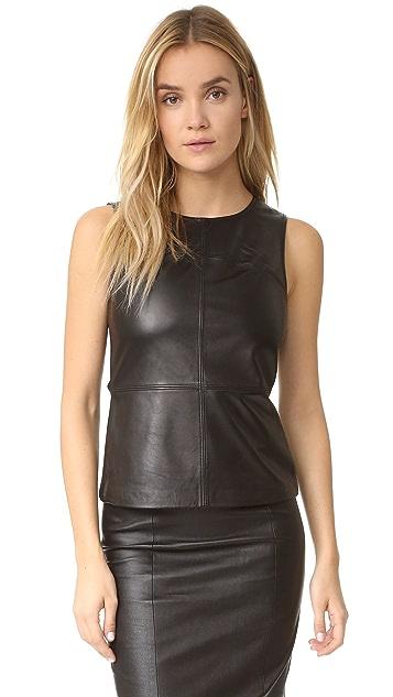 Mackage Sierra Leather Top