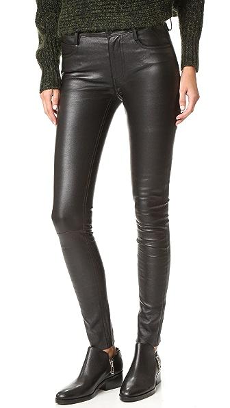 Mackage Кожаные брюки Peppa