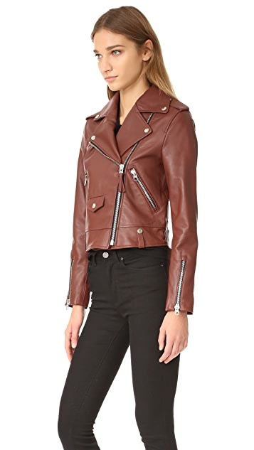 Mackage Куртка из гладкой кожи Baya