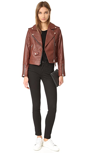 Mackage Baya Sleek Leather Jacket