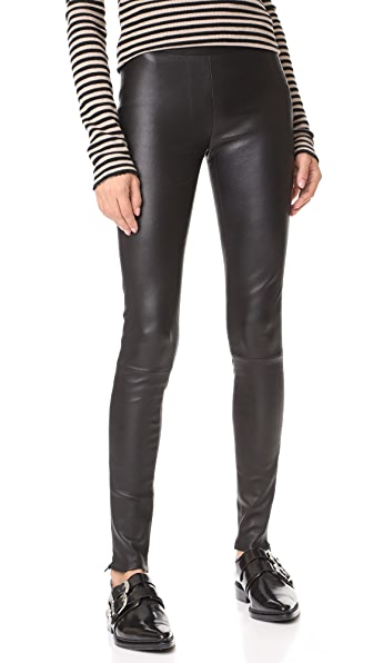 Mackage Navi Leather Pants - Black
