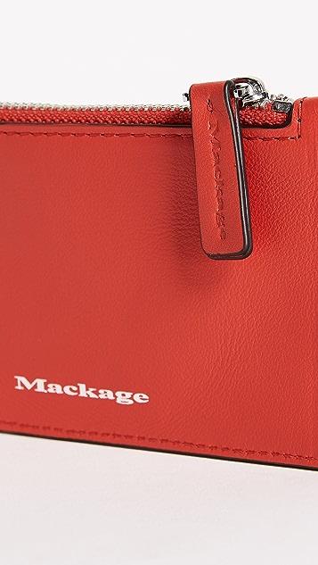 Mackage Taj Zip Card Holder