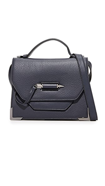 Mackage Keeley Top Handle Satchel - Ink