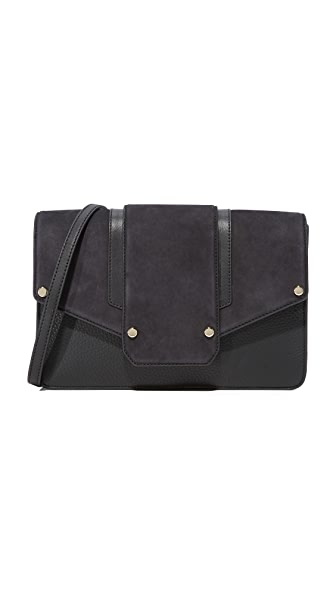 Mackage Effy Shoulder Bag - Black/Navy