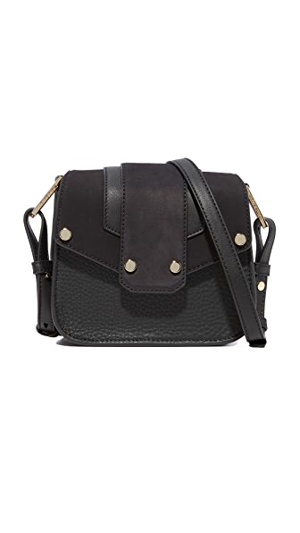 Mackage Polly Cross Body Bag - Black/Navy
