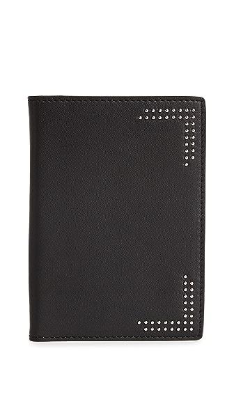 Mackage Otis Passport Case In Black