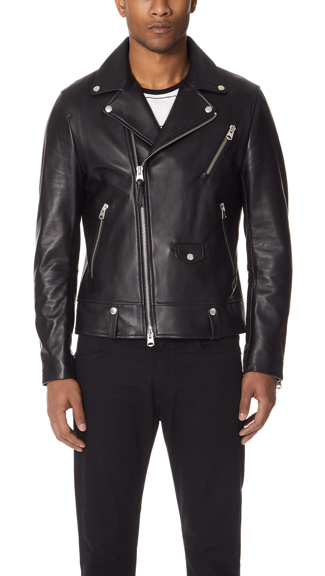 FENTON LEATHER JACKET