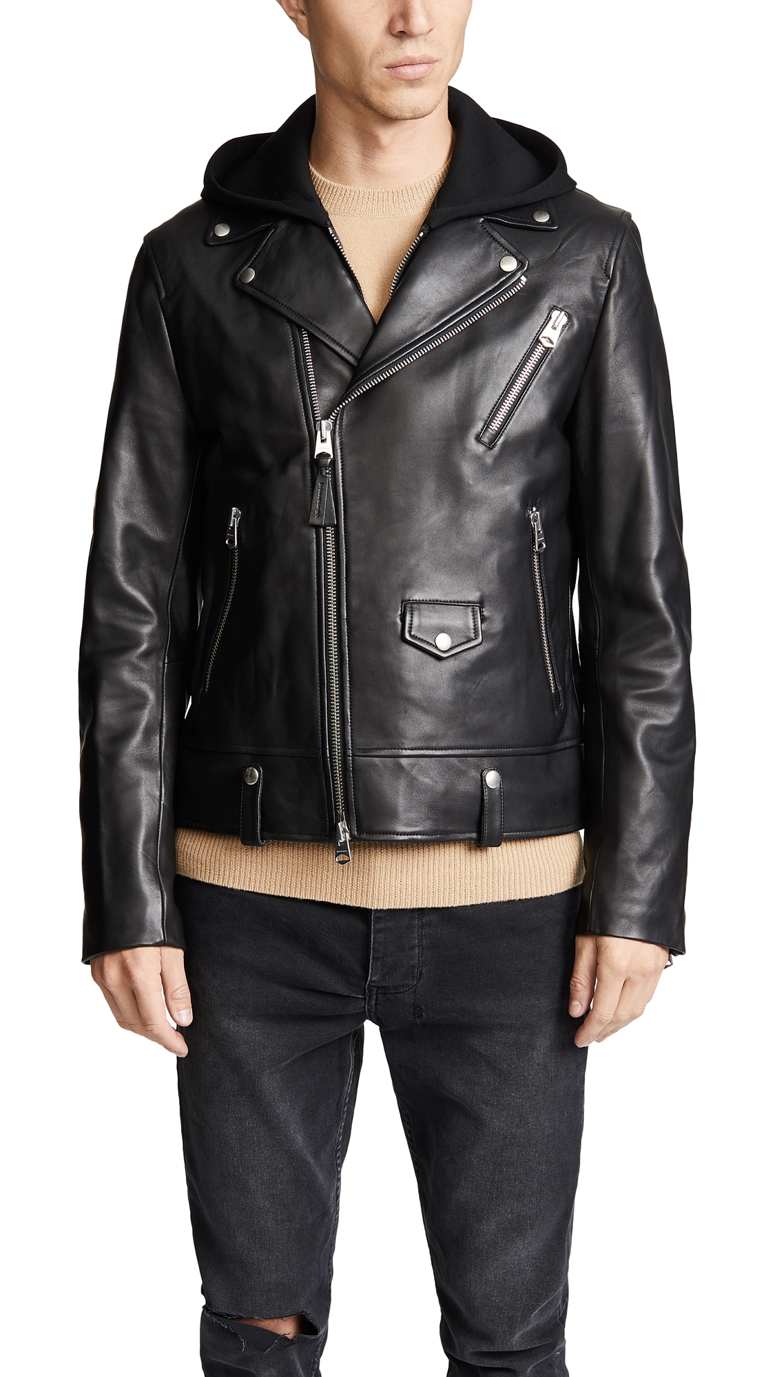 MACKAGE MAGNUS LEATHER JACKET