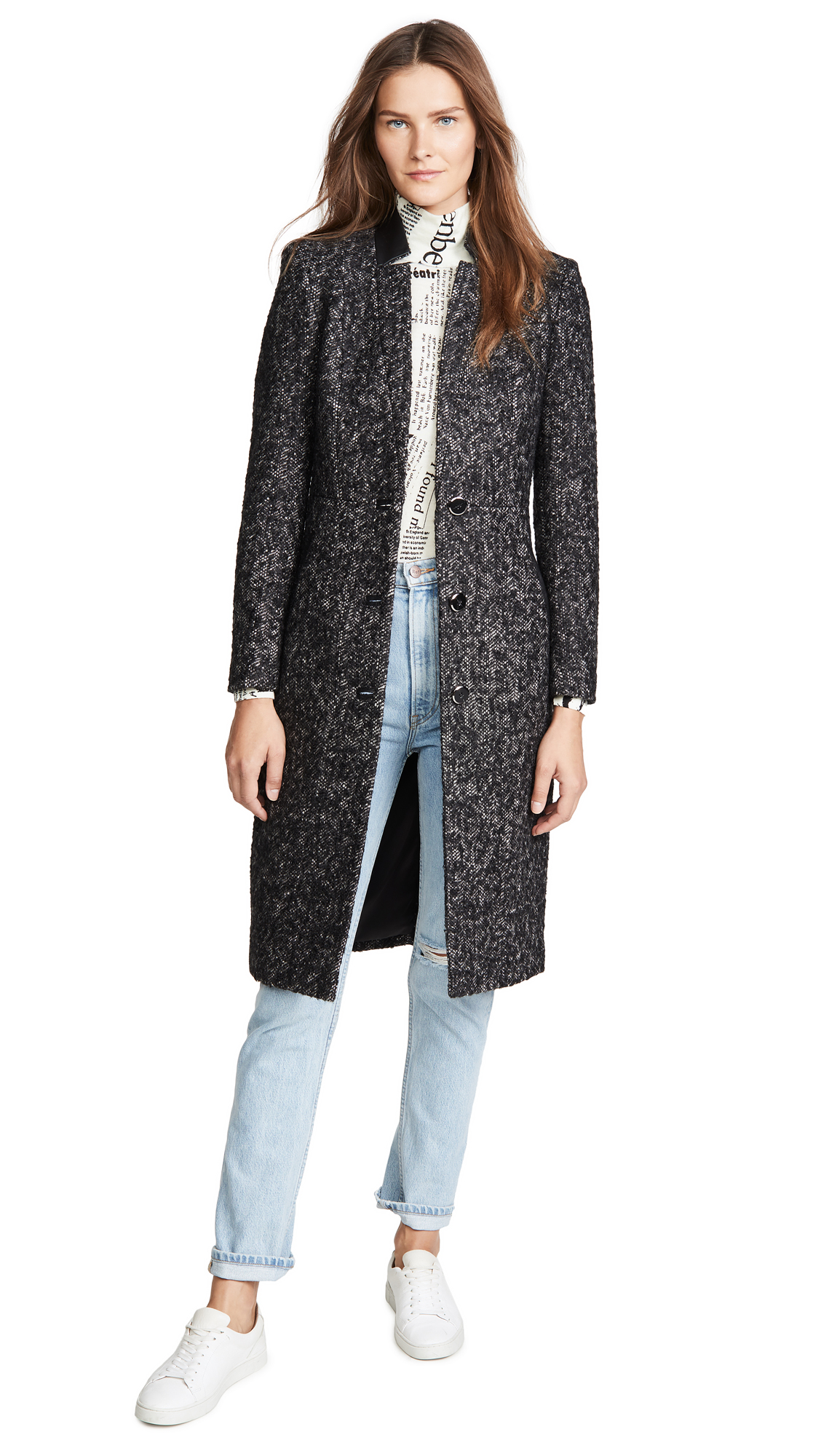 Buy Mackage online - photo of Mackage Bianca Mohair Coat