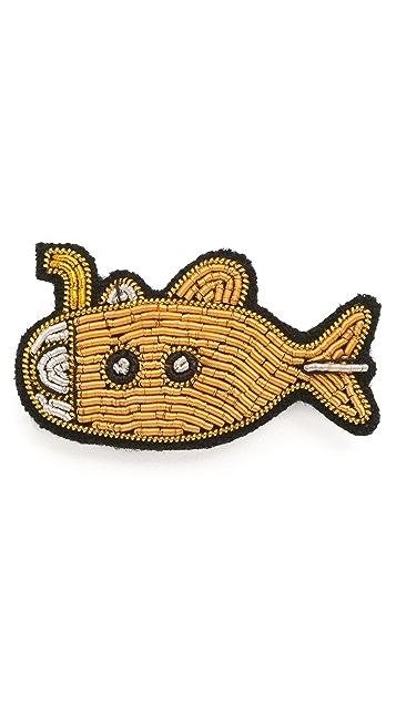 Macon & Lesquoy Yellow Submarine Pin