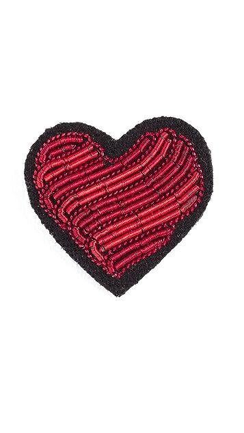 Macon & Lesquoy Heart Pin