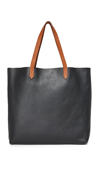 Madewell The Transport Tote In True Black