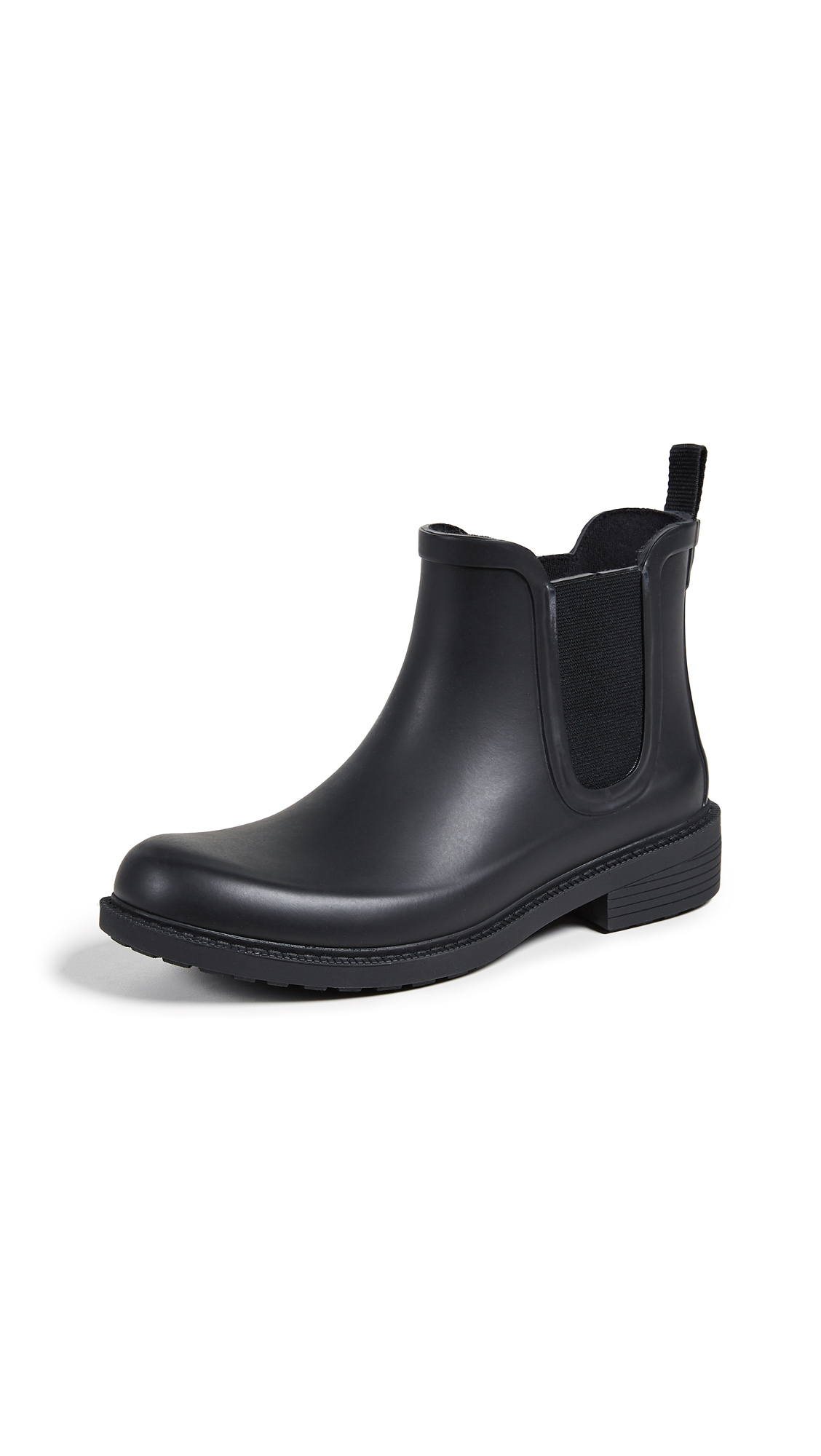 Madewell The Chelsea Rain Booties - True Black