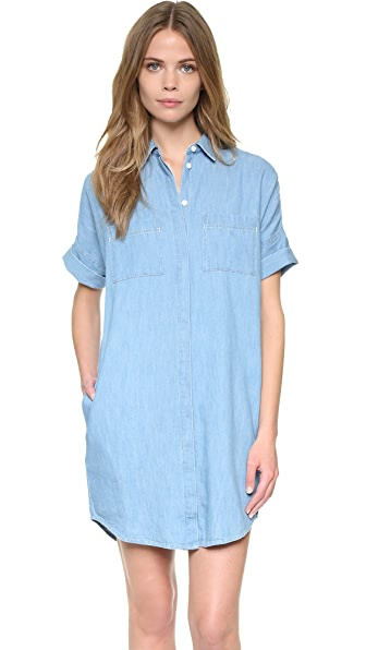 Madewell Courier Denim Dress