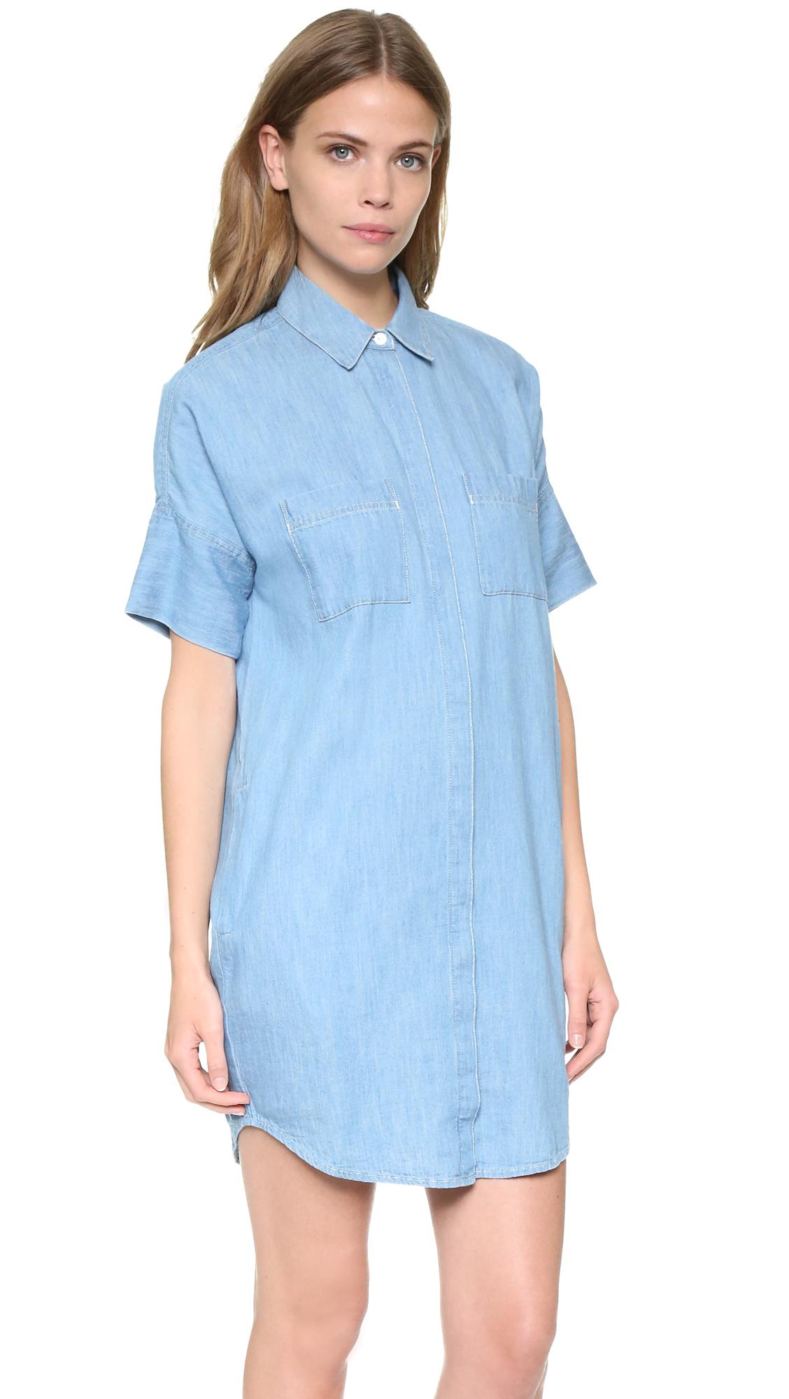9275d6f37d Madewell Courier Denim Dress