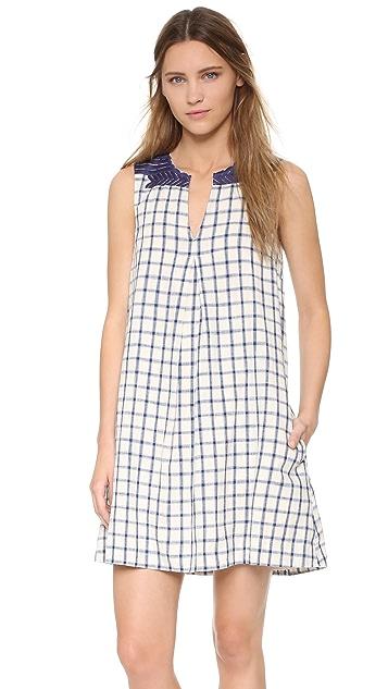 Madewell Embroidered Sunray Dress