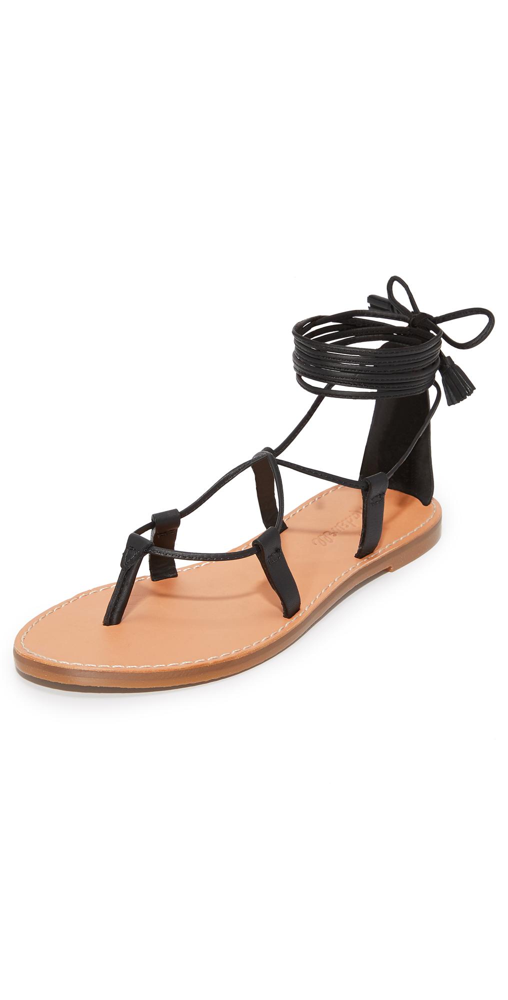 Kana Lace Up Gladiator Sandals Madewell