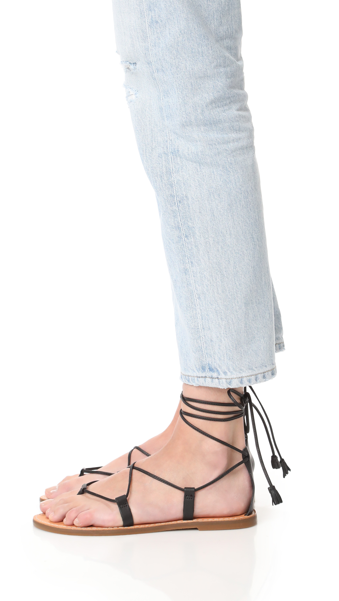 10ad5f79288d Madewell Kana Lace Up Gladiator Sandals