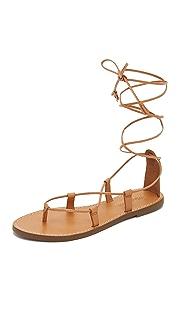 Madewell Kana Lace Up Gladiator Sandals