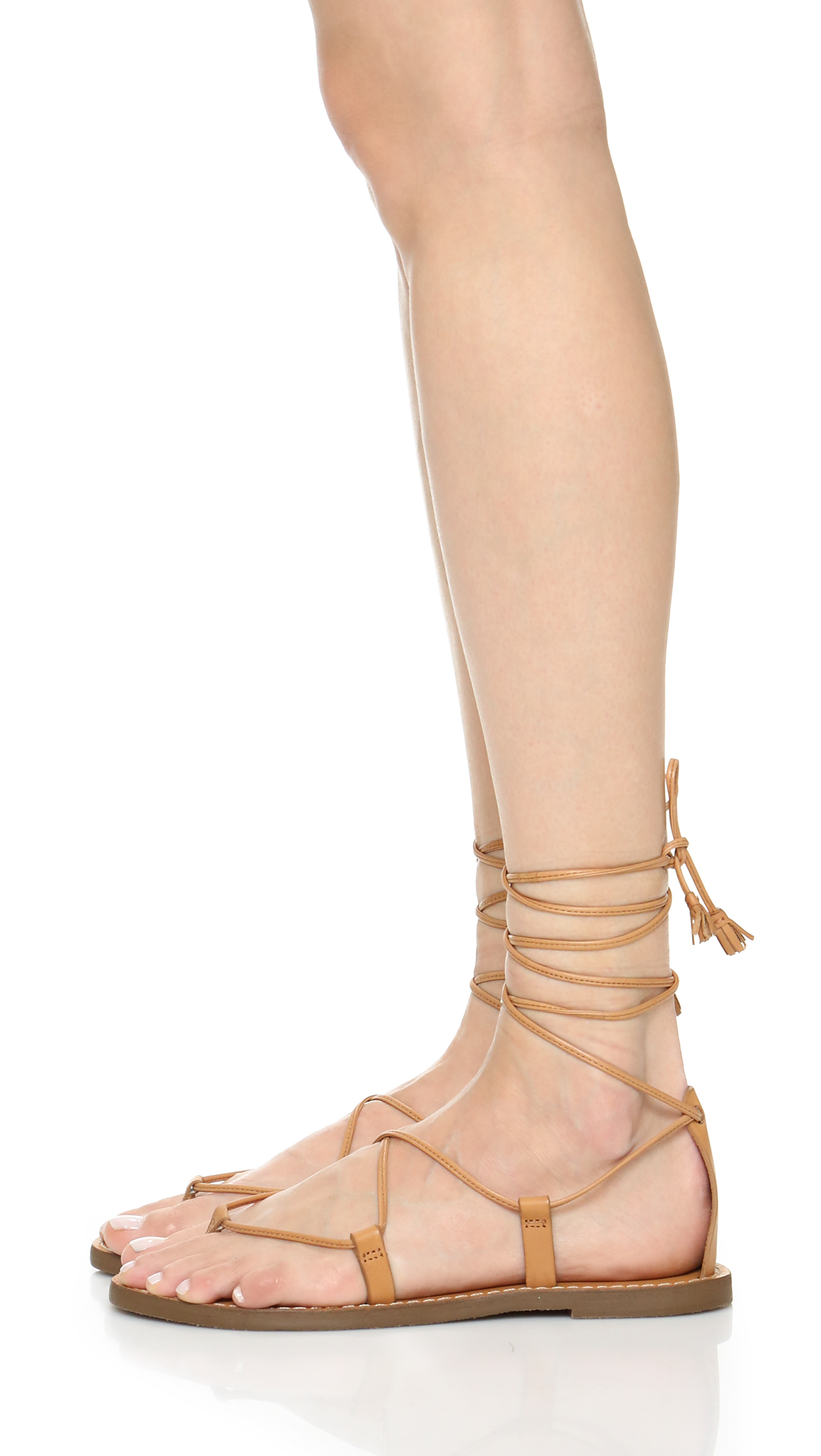 f351261f0e35 Madewell Kana Lace Up Gladiator Sandals