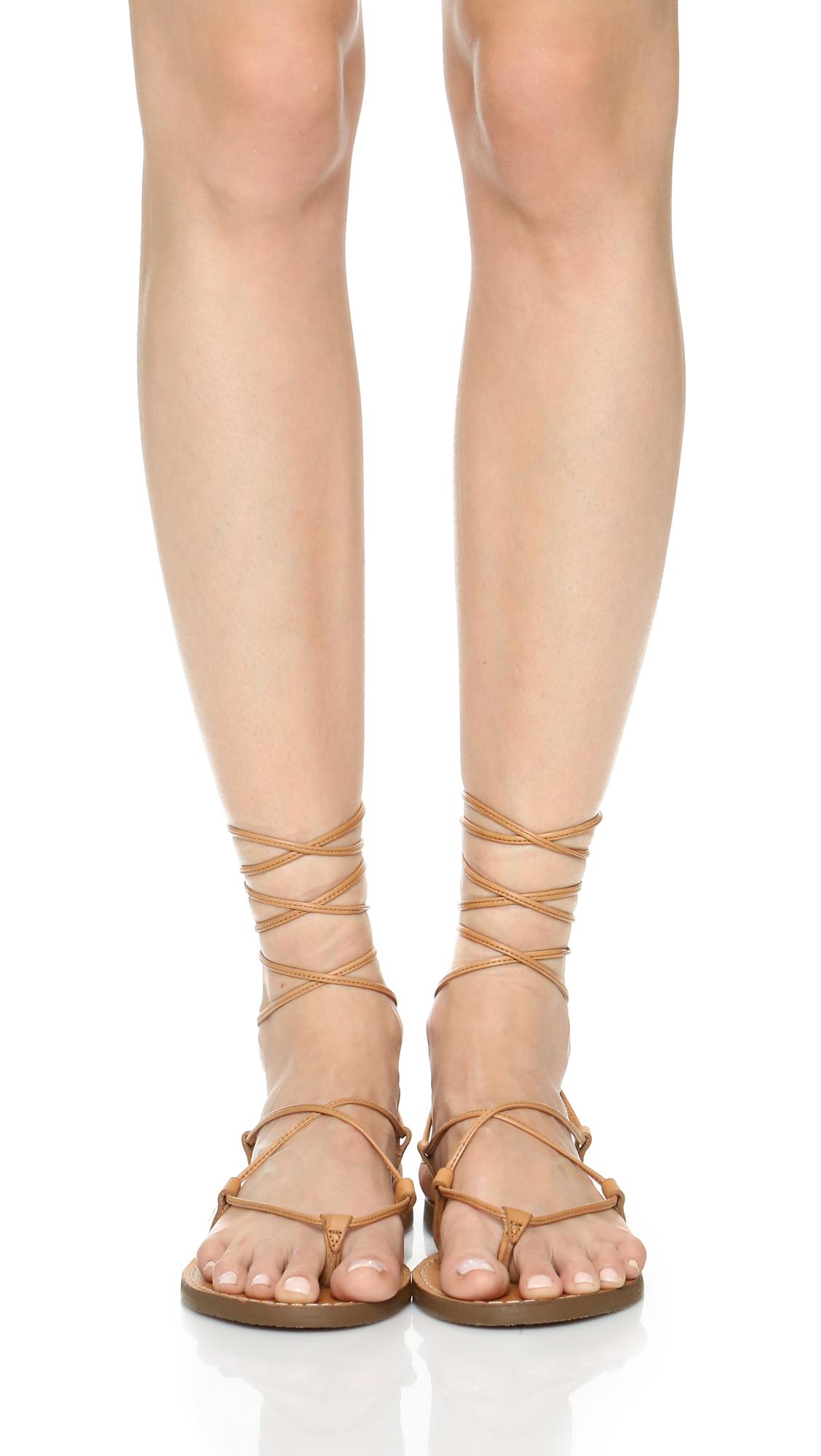 156e67f05794 Madewell Kana Lace Up Gladiator Sandals