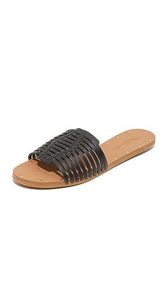 Madewell Willa Diamond Slide Sandals