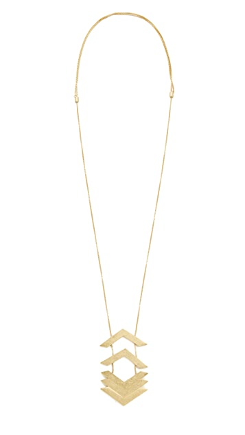 Madewell Upside Arrowstack Necklace