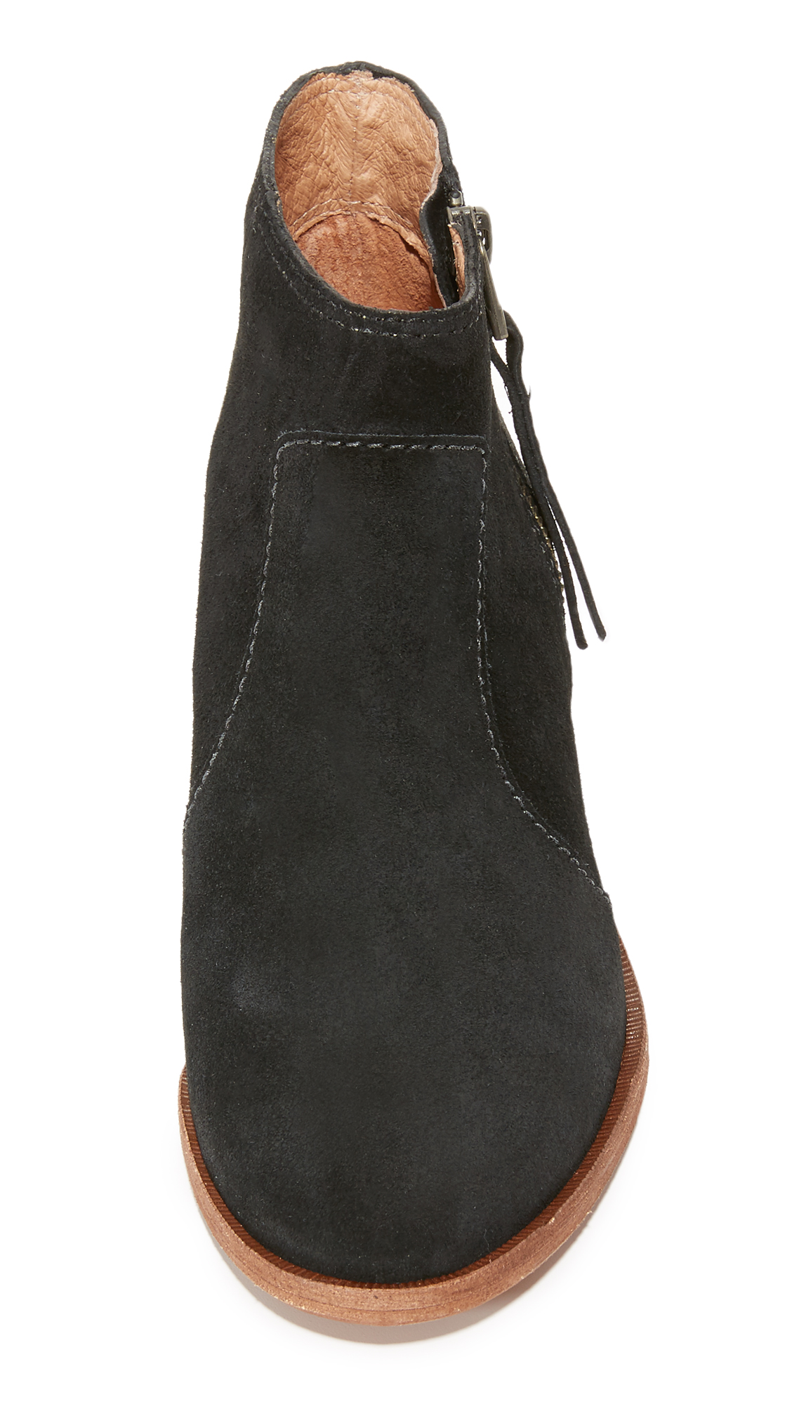 Madewell Janice Booties Shopbop D Island Shoes Casual Zappato England Suede Black