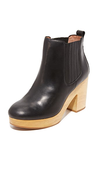 Madewell Marco Chelsea Booties - True Black