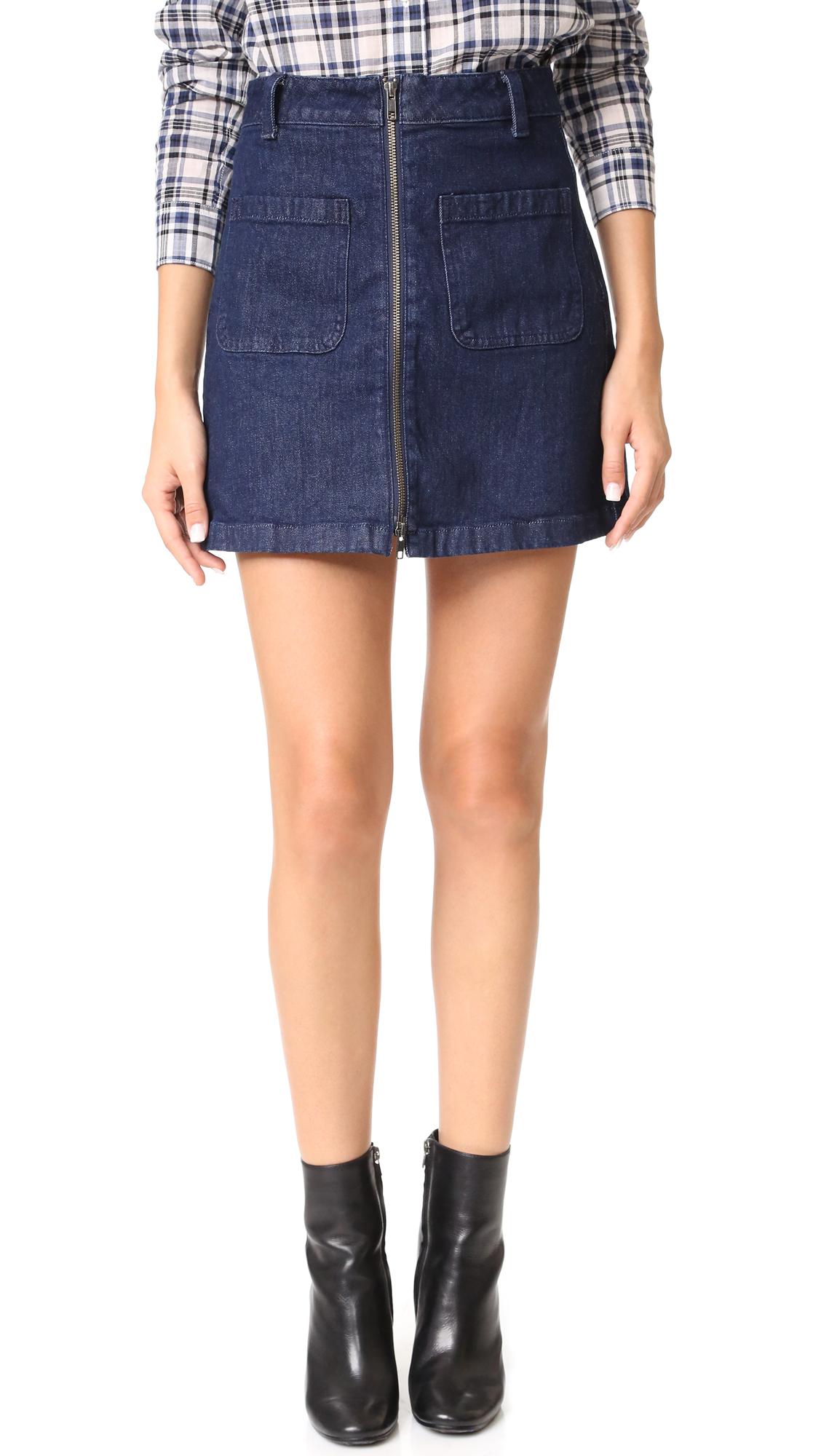 15abf9110 Madewell Denim Skirts for Women for sale   eBay