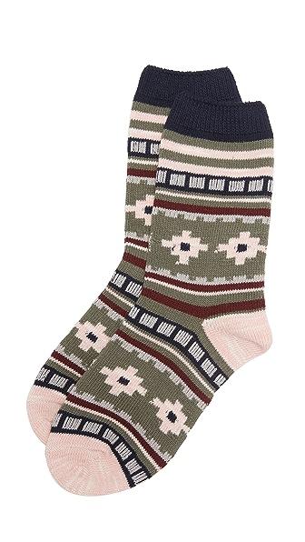 Madewell Носки под брюки с рисунком в сельском стиле