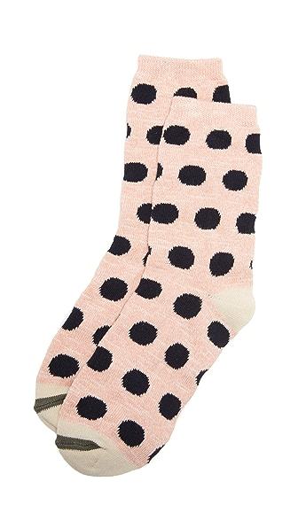 Madewell Marl Polka Dot Trouser Socks