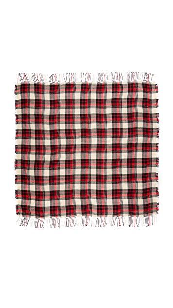 Madewell Plaid Cozy Weave Scarf