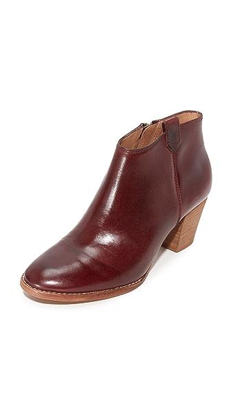 Madewell Billie Boots - Dark Cabernet