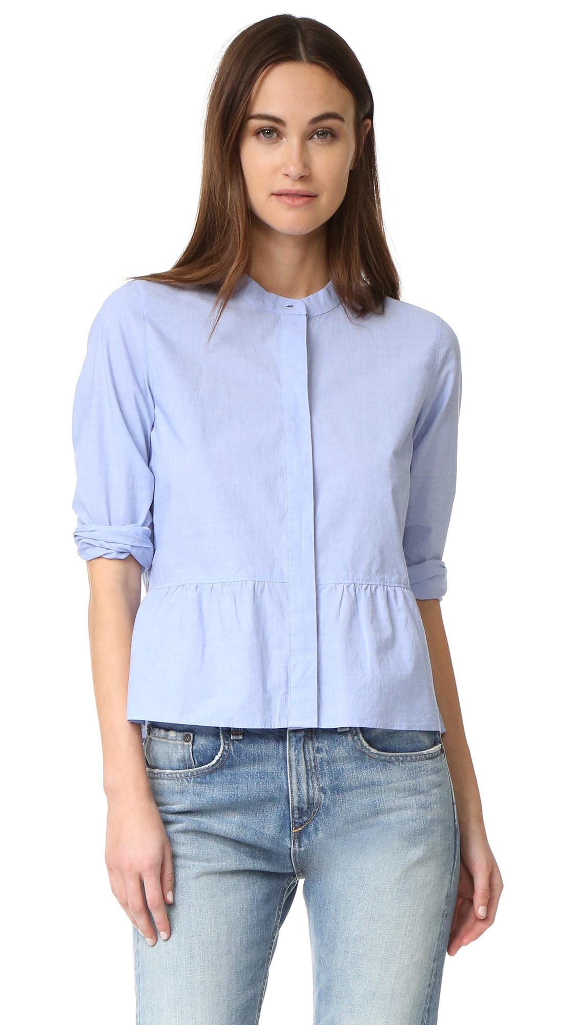 381c83634df87c Madewell Peplum Shirt | SHOPBOP