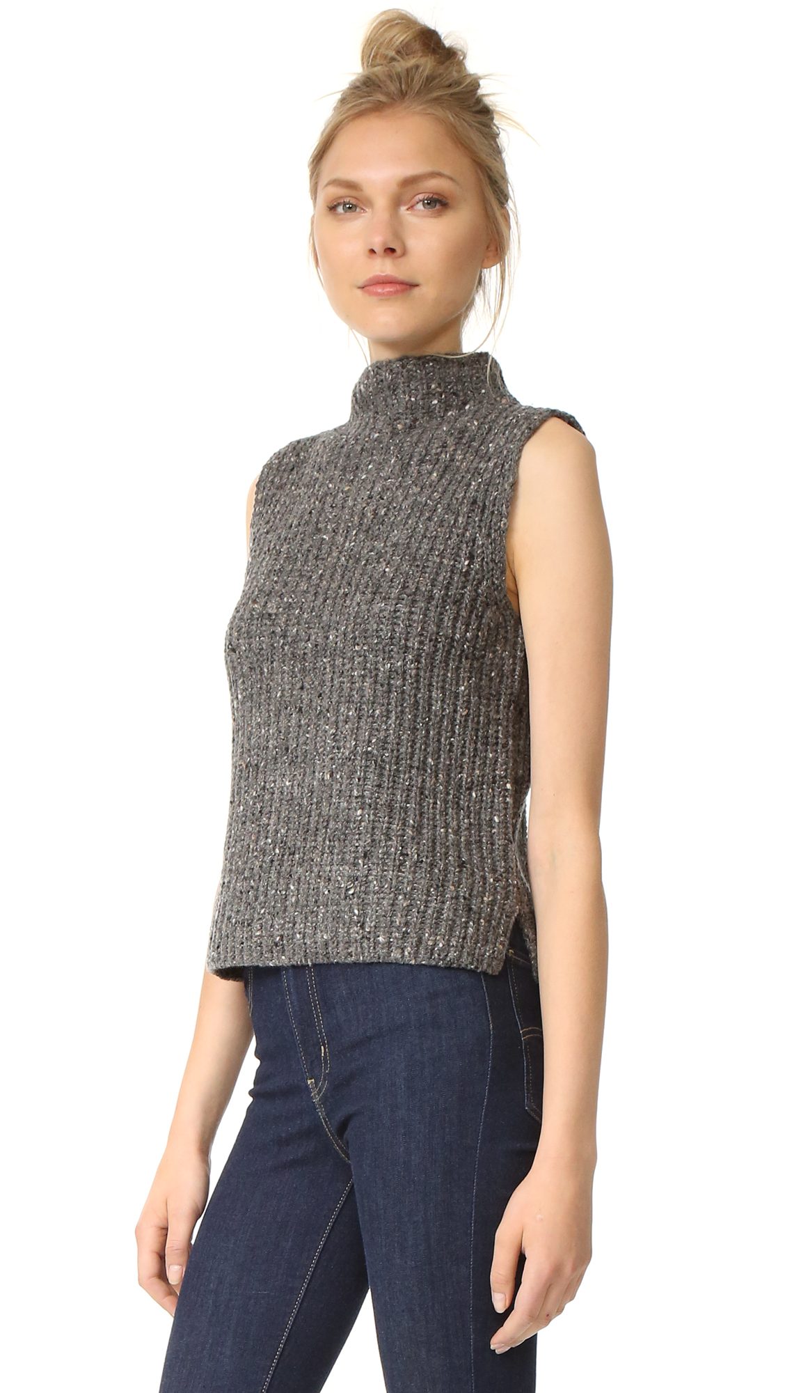 e7ac58d89fede5 Madewell Donegal Madison Sleeveless Pullover